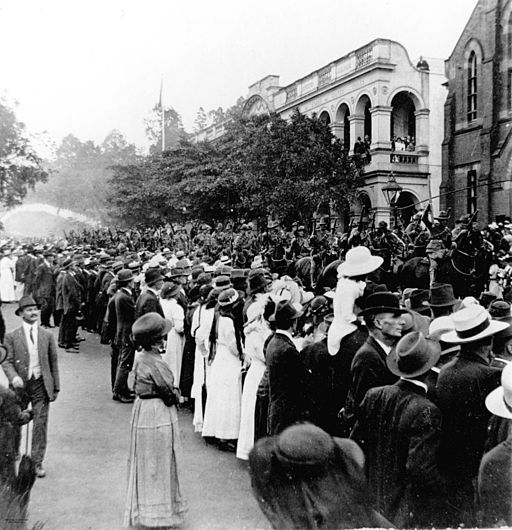 Anzac Day procession 1917, Brisbane