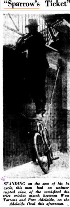A caption from the Adelaide 'Mail', 18th February 1933, via Trove digitised newspapers (National Library of Australia)