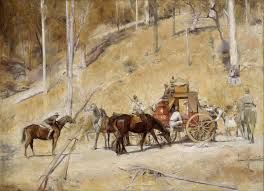 Tom Roberts, 'Bailed up', 1895. Source: Art Gallery of New South Wales