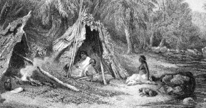 An Aboriginal shelter