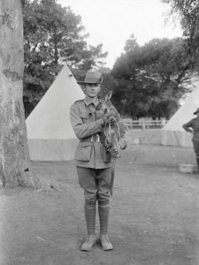 Private Harry Victor Turner, who served with the 16th Battalion at Gallipoli, 1915. Source: State Library of South Australia