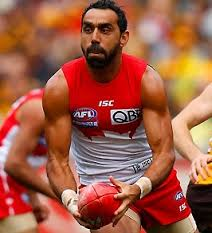 AFL player Adam Goodes